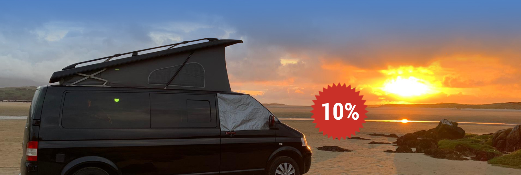 Early Bird Discount Sale 2019 Lazy Days VW Camper Hire
