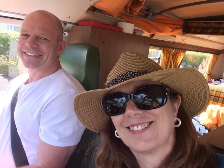 Linda & Stewart go Camping
