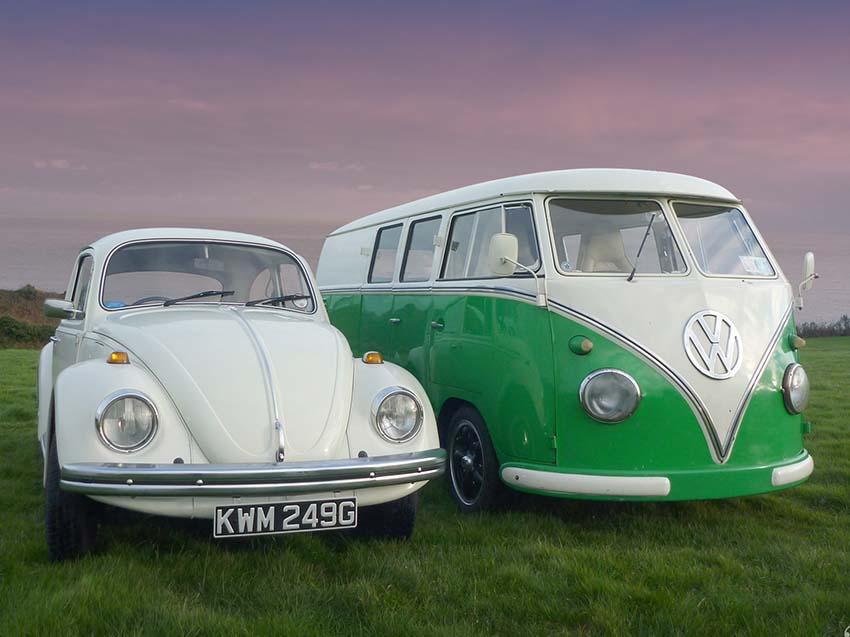 Wedding Van and VW car for hire, lazydays, ireland