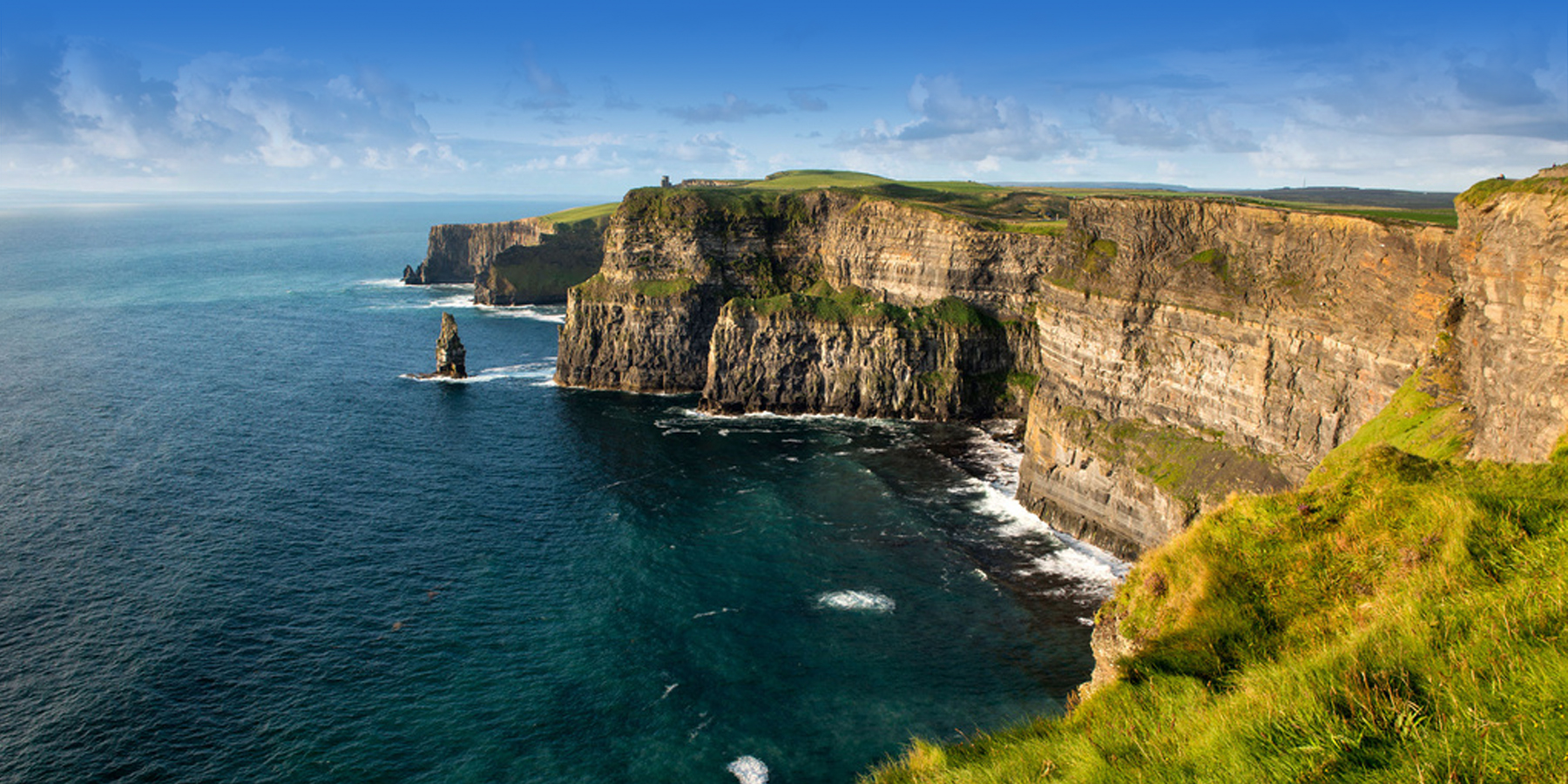 Discover Ireland Cliffs of Mohar Clare Wild Atlantic Way