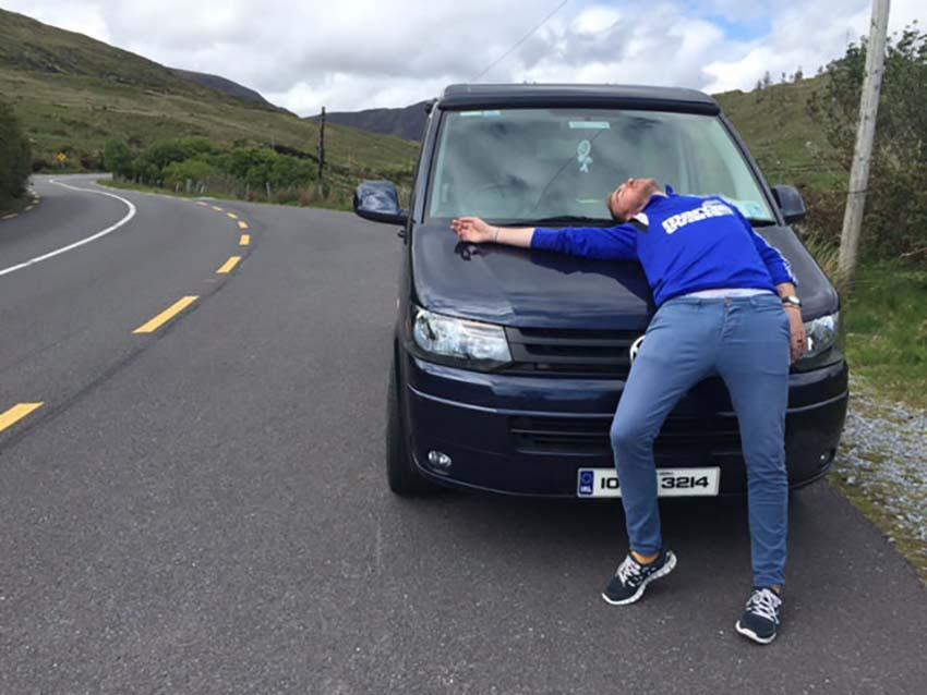 Camper Van Love, Lazydays, VW Camper Van Hire, Ireland