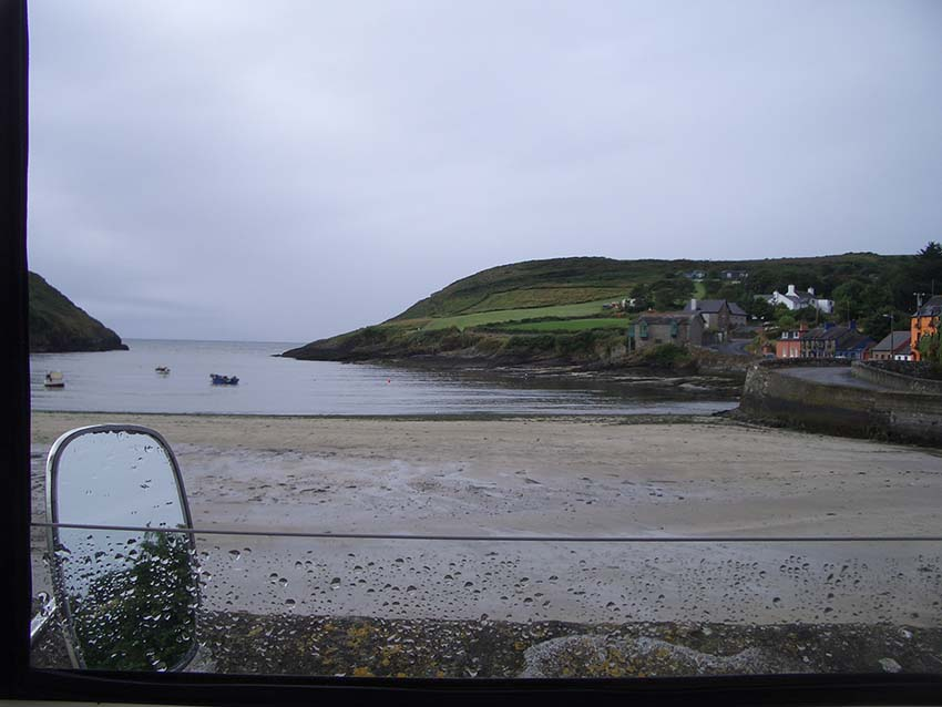 Coastal View from T5VW camper Van, Lazydays