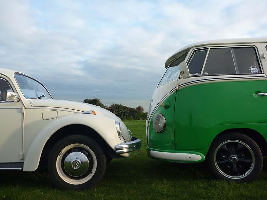 Lazy Days Vintage VW Camper & Beetle for Wedding Hire