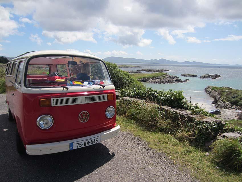 7cdc19be48 ... ireland  Rocky  Lazy Days Rocky Vintage VW Campervan. Previous  Next