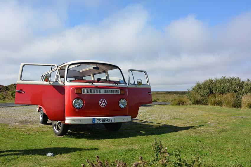 6d40a7d232 Good Bye Rocky! - Lazy Days VW Camper Hire Ireland