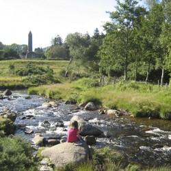 Round Tower, Monastic Site, Glendalough, Wicklow, Discover Ireland with Lazydays