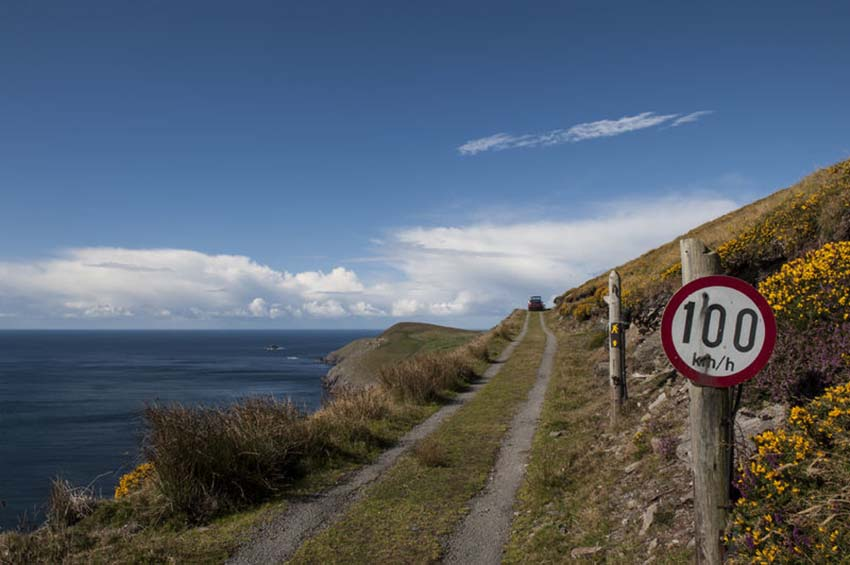 Road on coast, Ireland