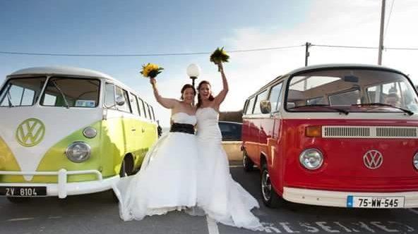 Elaine & Anne's Wedding in 2013