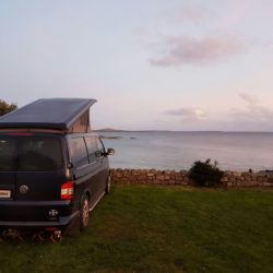 Big Blue at Gurteen Bay campsite
