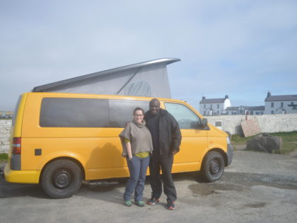 Kate & Ian's Camper Experience in March 2017