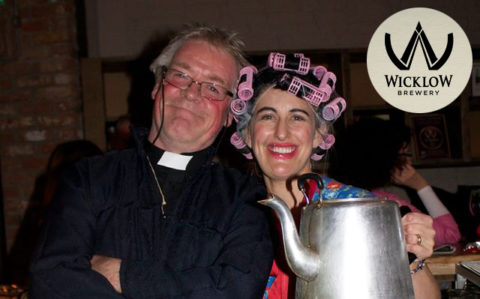 The annual Father Ted Festival At Mickey Finns Pub Redcross Co Wicklow