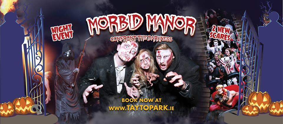 Halloween Tayto Park Morbid Manor