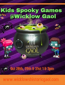 Wicklow Gaol Halloween Kids Games