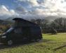 Bandit Lazy Days Campervan Glen of Aherlow Campsite Tipperary-Ireland