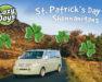 St Patrick's Day shenanigans in a Lazy Days campervan