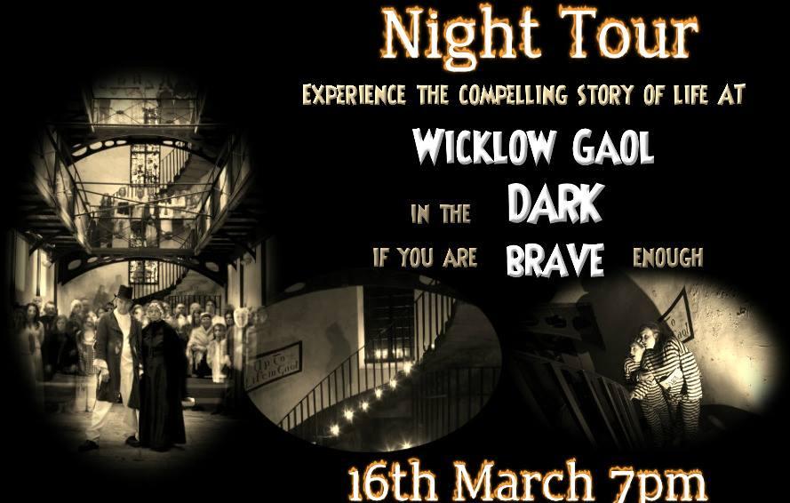 Wicklows Historic Gaol Night Tour