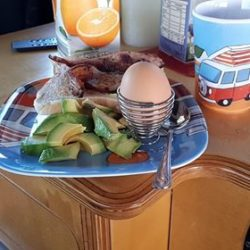 Breakfast in Bed Dakar Lazy Days Campervan