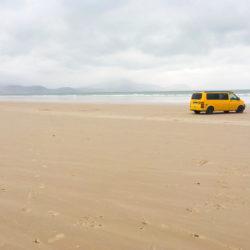 Dakar camper at the beach