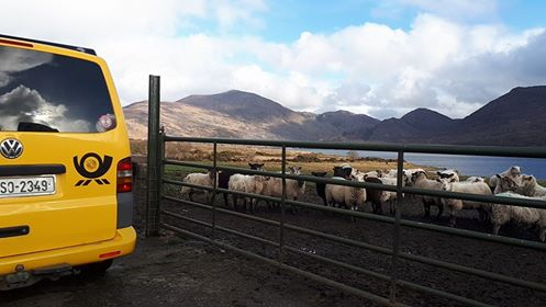McGillicuddy Reeks Kerry View Lazy Days Campervan Hire