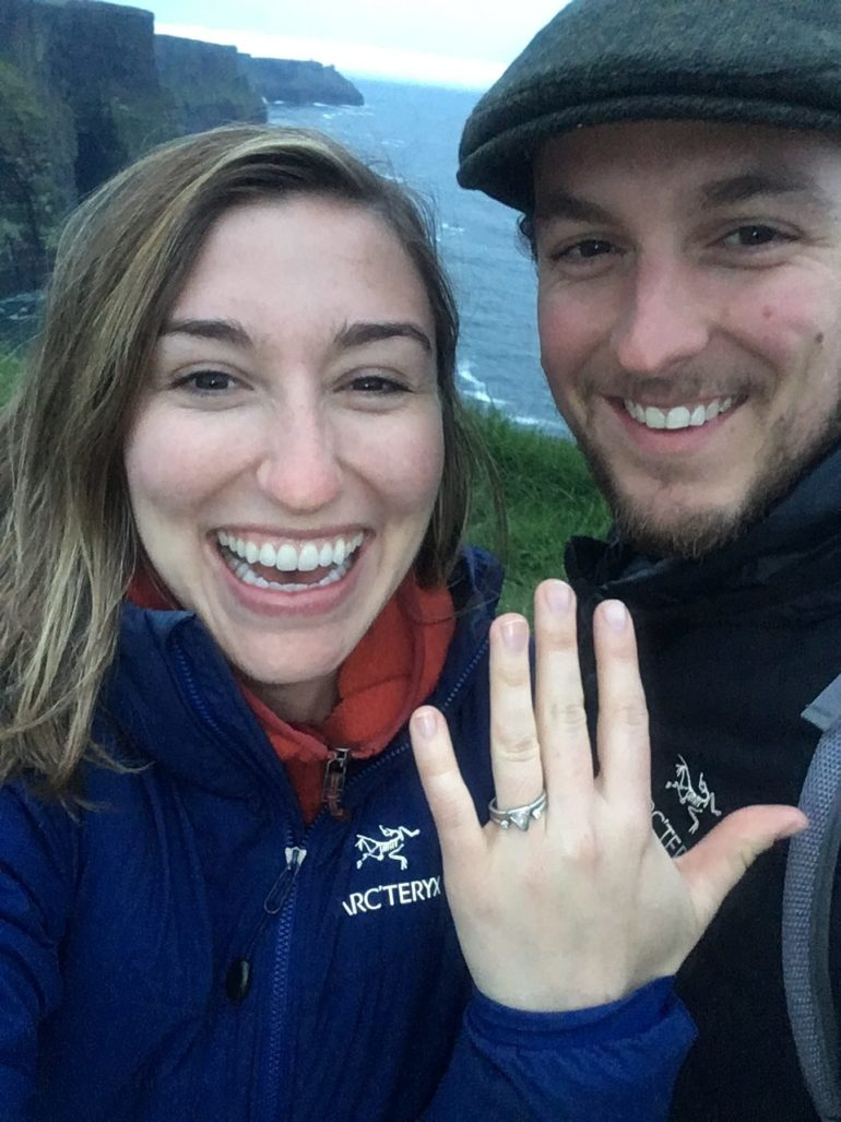 Getting Engaged in Ireland in a Lazy Days Campervan