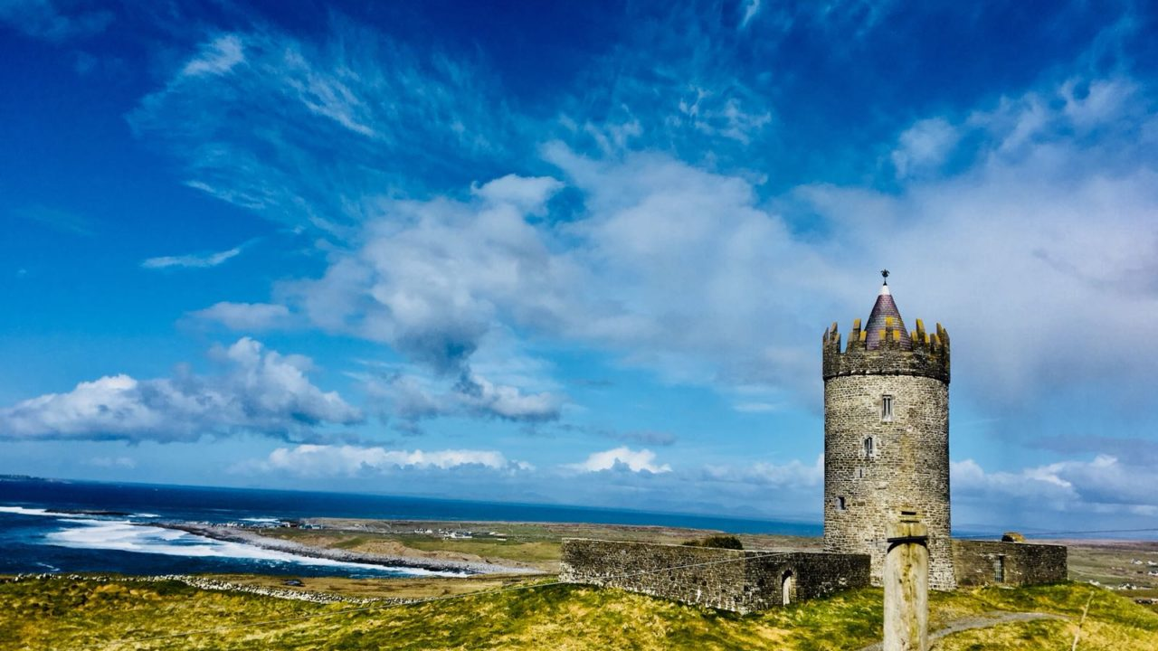 Doonagore Castle Doolin Clare Wild Atlantic Way