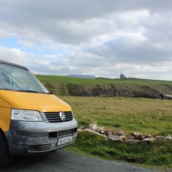 Lazy Days Campervan Classiebawn Castle Benbulben Sligo