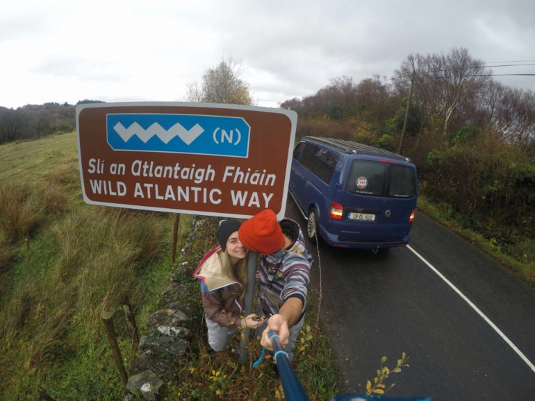 Spike Touring Wild Atlantic Way