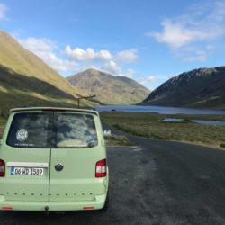 Lazy Days Campervan Doo Lough Mountain Pass Wild Atlantic Way