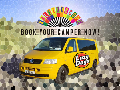 Campervan Hire for Kaleidoscope Festival Wicklow