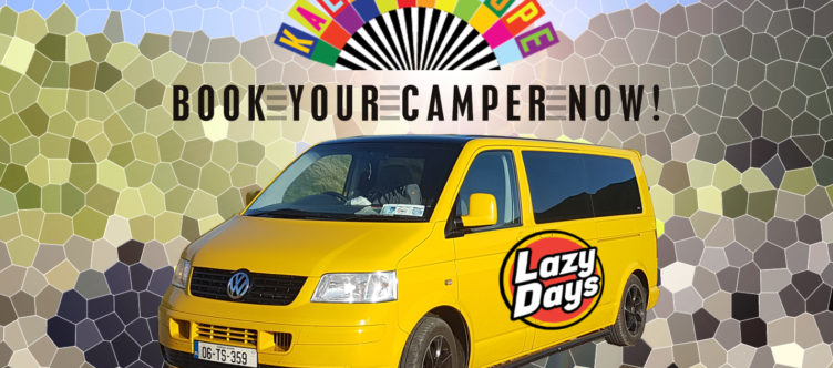 Campervan Hire for Kaleidoscope Festival 2019