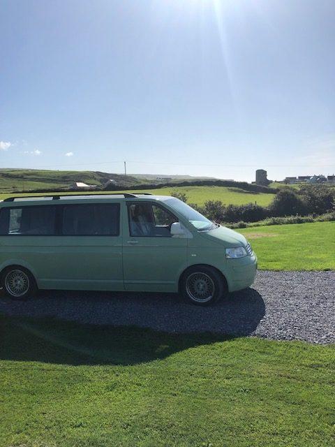 Discover Ireland Volkswagen Camper
