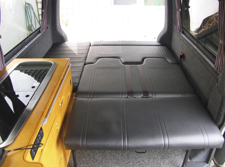 Camper Conversion Lower Bed