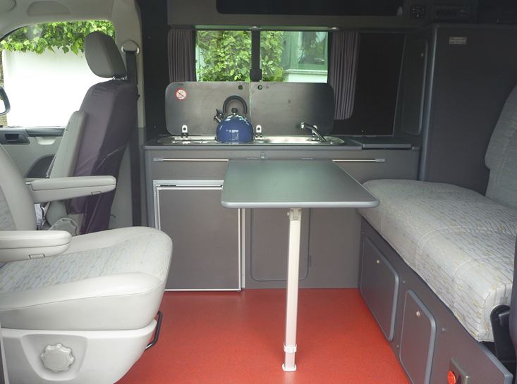 Lazy Days Camper Conversion Interior Layout