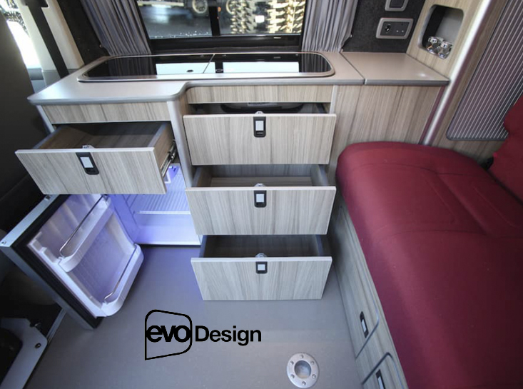 Evomotion Design Camper Conversion Interiors