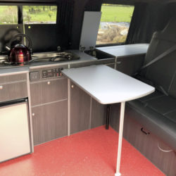 Flint Lazy Days Campervan Interior Camper Conversion