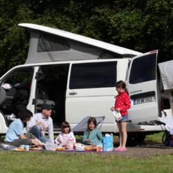 Family Camping at Lough Key