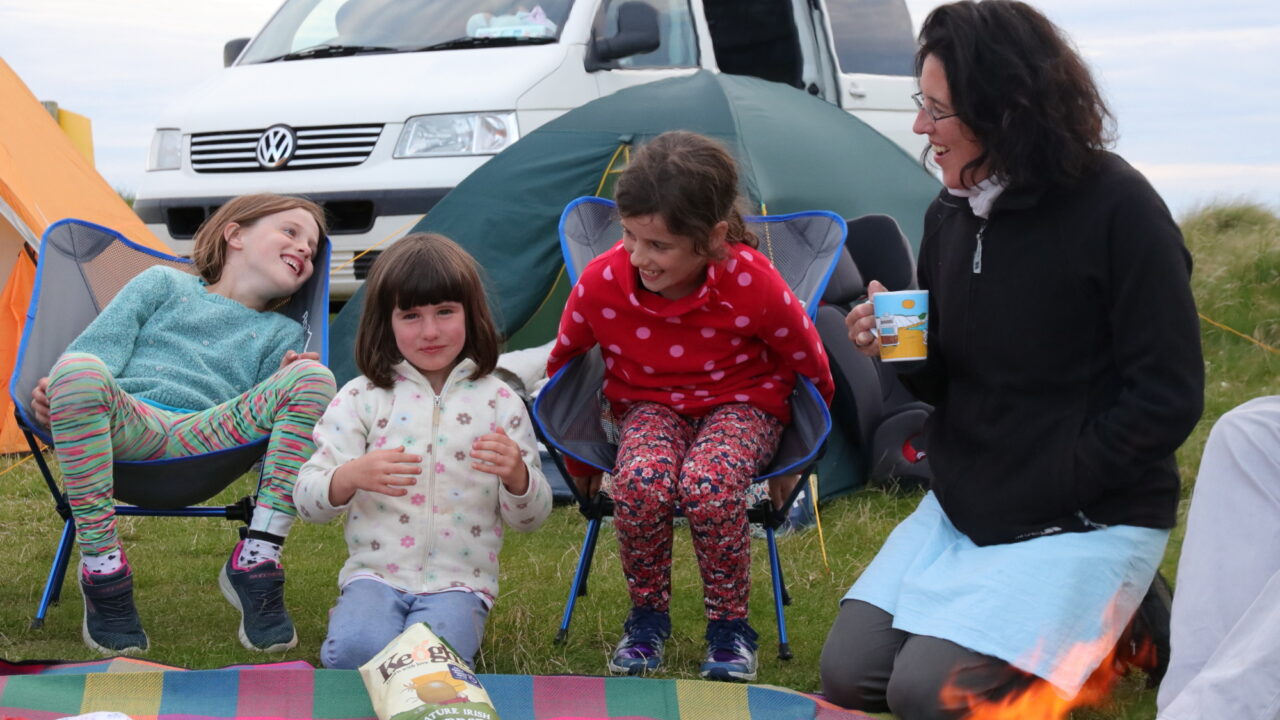 Wild Camping at Belmullet
