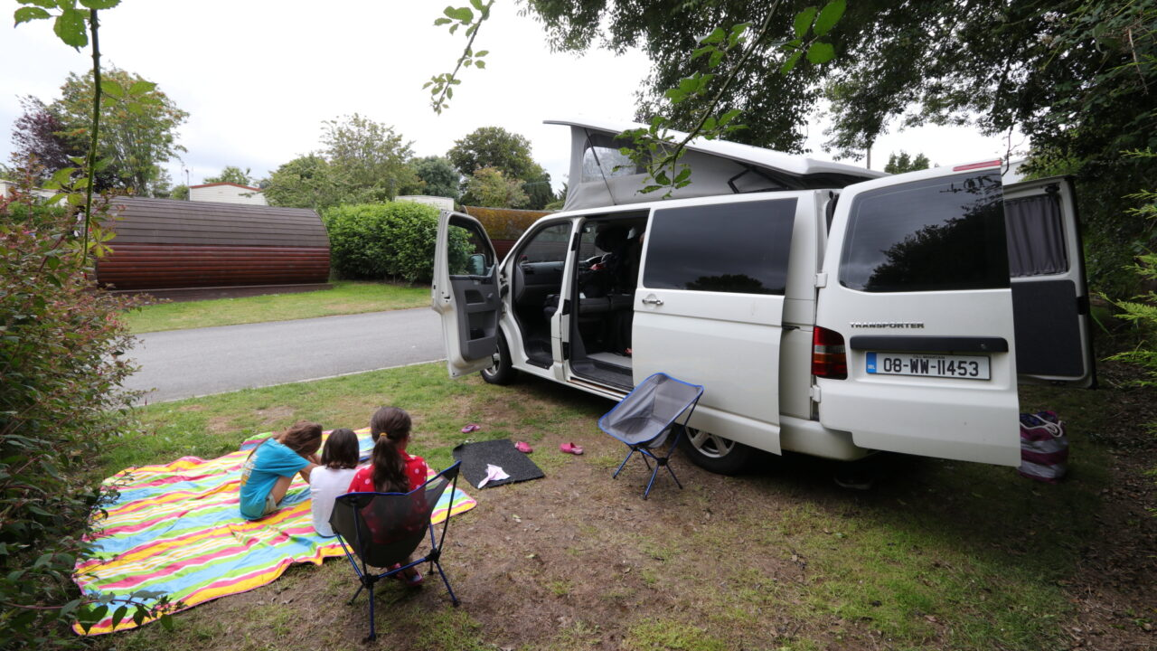 Camping in Wicklow