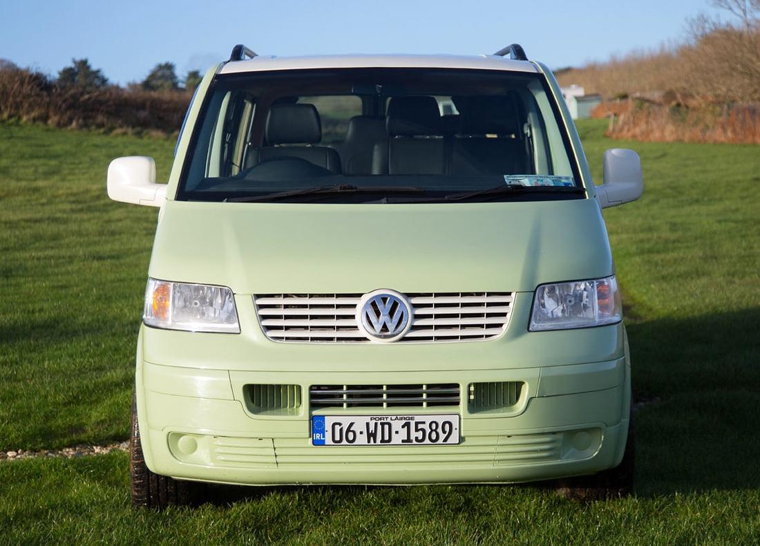 Lazy Days Touring VW Campervan Green