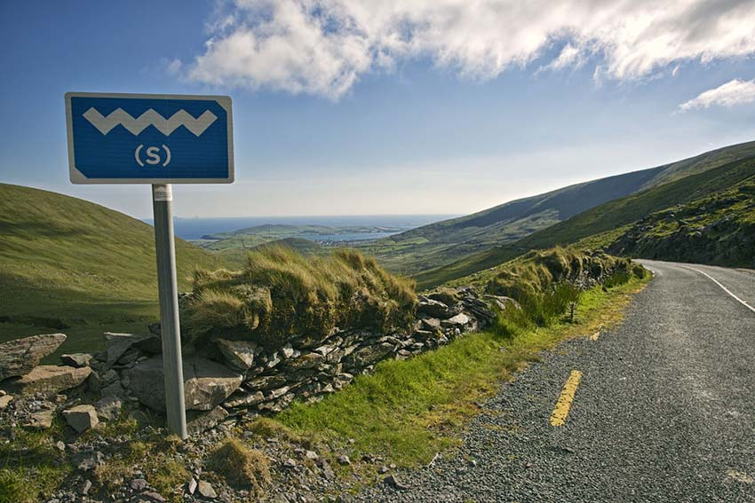 Atlantic Way, Winding Road, Ireland