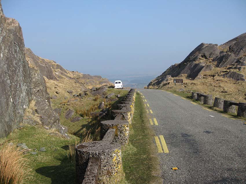 Rural Road, Camper Vans Ireland