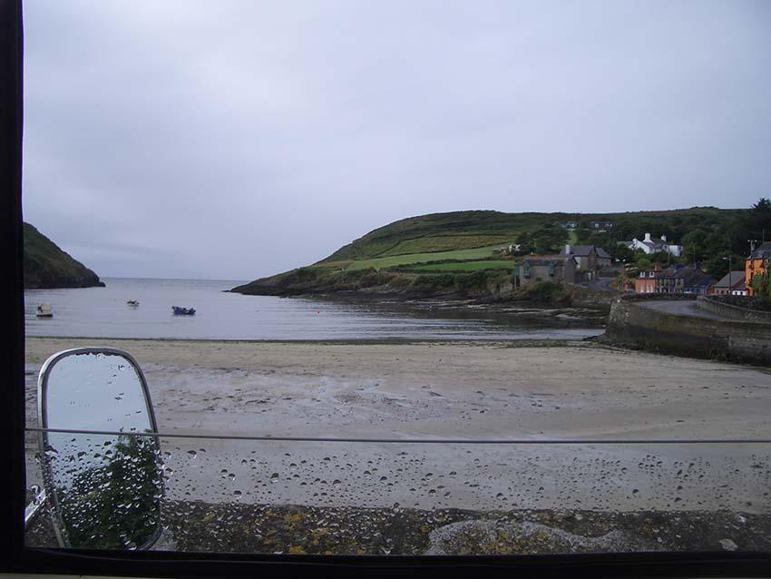 Coastal View from T5VW camper Van, Lazydays