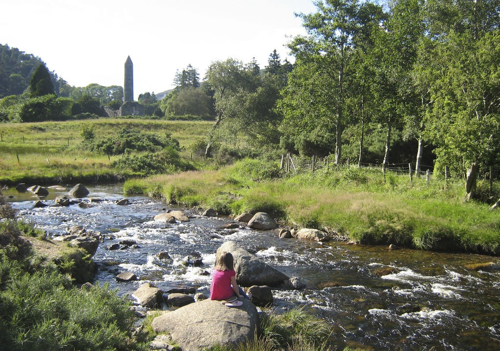 Round Tower, Monastic Site, Glendalough, Wicklow, Discover Ireland with Lazydays