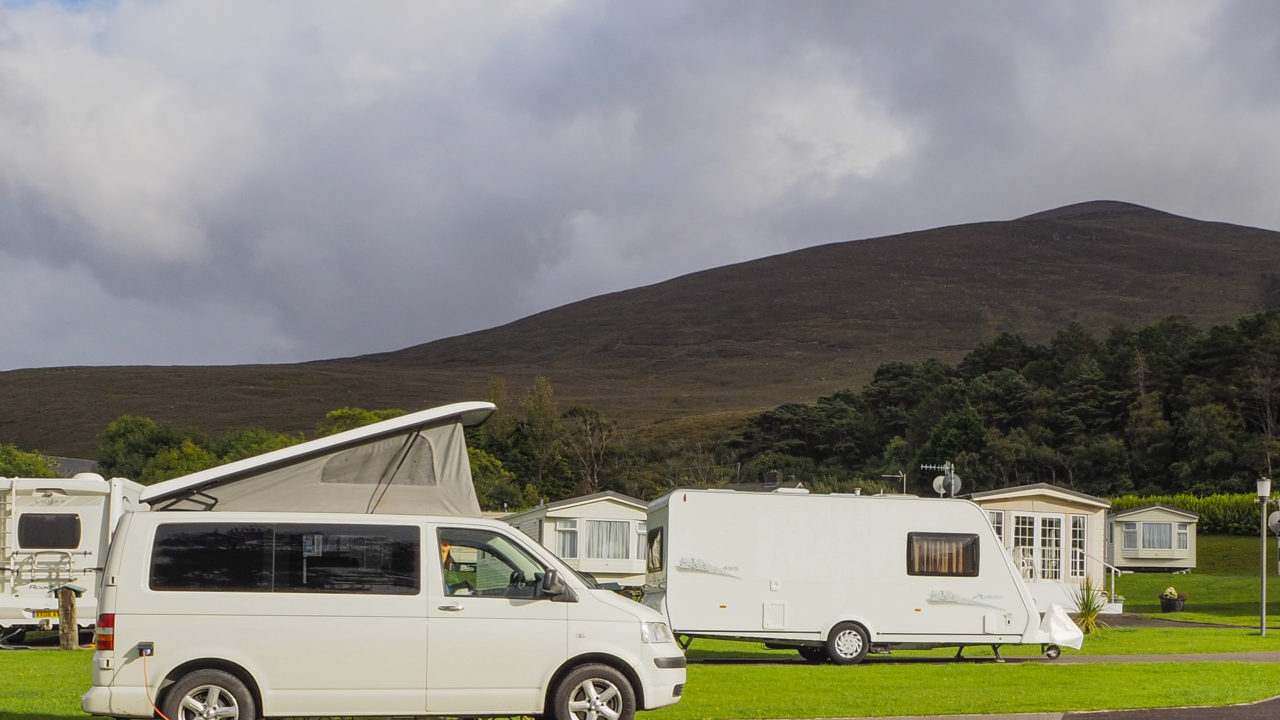 Jaws at Glenbeigh Campsite in Kerry