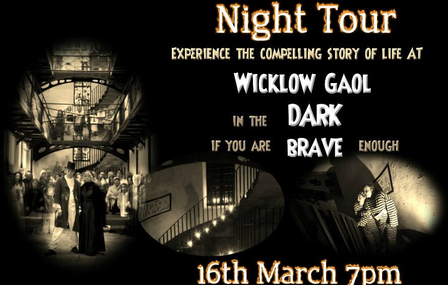 Wicklows Historic Gaol Night Tour