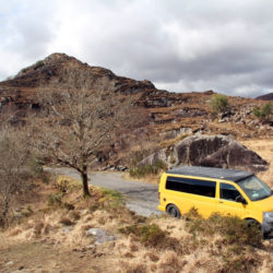 Lazy Days Campervan Mountain Drive