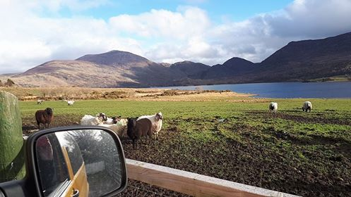 McGillicuddy Reeks Kerry Lazy Days Campervan Hire