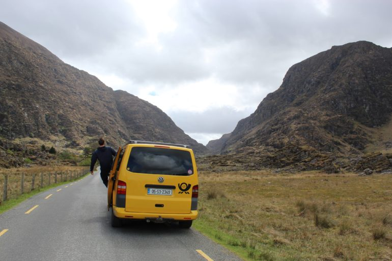 Lazy Days VW Camper Hire Mountain Pass