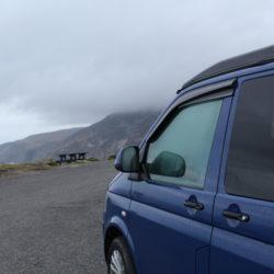 Misty Slieve League Cliffs Donegal