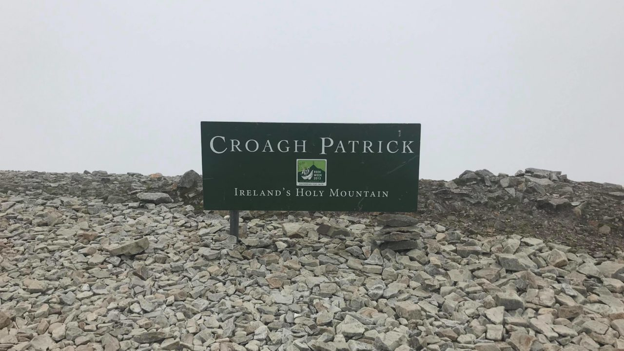 Croagh Patrick Mountain Mayo Wild Atlantic Way